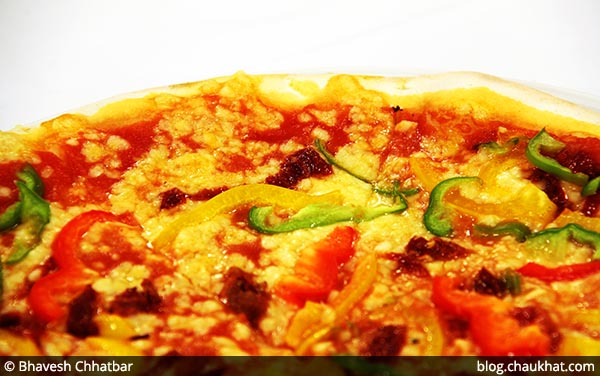 Siciliano Veg Pizza at Dezio, Kalyani Nagar, Pune