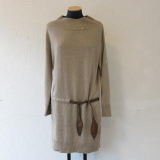 Brunello Cucinelli Cashmere & Silk Sweater Dress