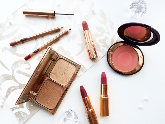 luxury charlotte tilbury makeup haul secret salma lipstick