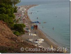 Croatia Online - Zlatni rat, near Bol