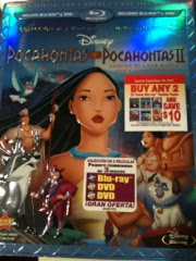 Disney Blue Ray Pocahontas