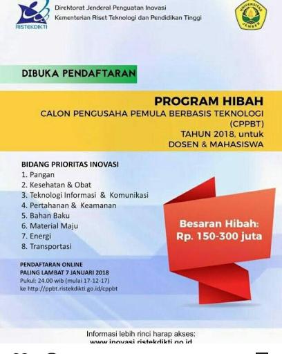 HIBAH CPPBT 2018