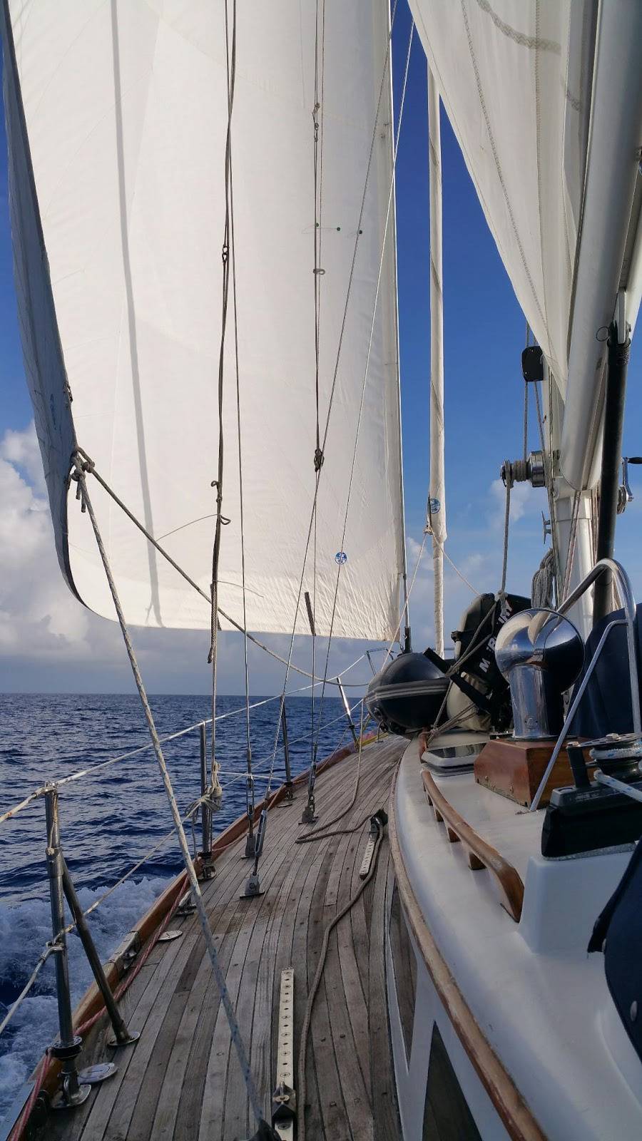 Fortunes Afloat: Anatomy of a 170 Mile Passage