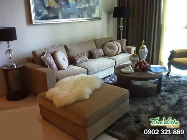 Căn hộ cho thuê nội thất siêu 3 phòng ngủ tại The Vista chỉ 1100usd