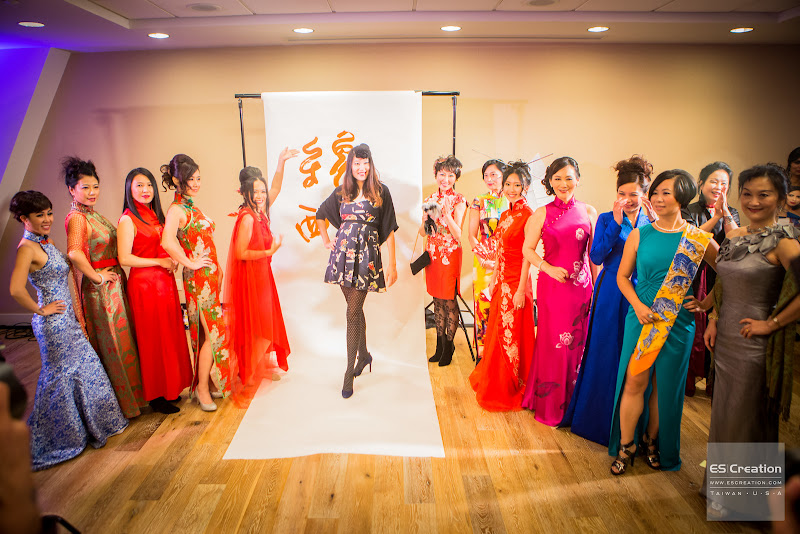 Leaders of Hundred Asian Beauties and their coach! Photo by Simon Fu of ES Creation.