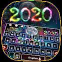 2020 Happy New Year Keyboard Theme icon