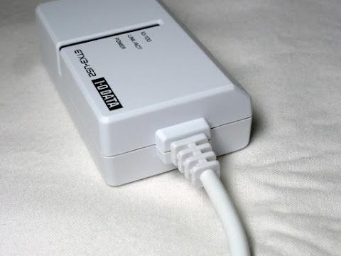 ETX3-US2 本体 USBケーブル付け根のアップ