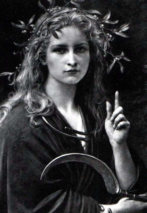 Druids Girl, Celtic And Druids