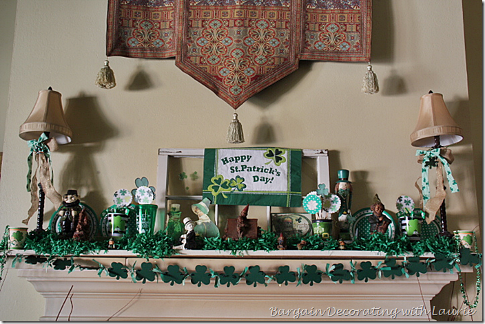 ST PATRICK'S DAY MANTEL