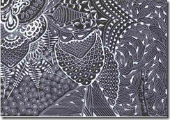 373 Zentangle Owl