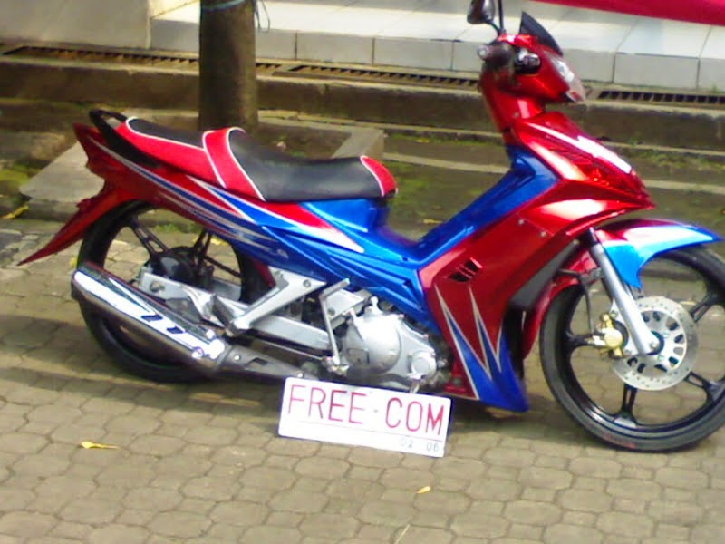 Modifikasi Spin 125cc