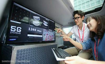 Teknologi terbaru dari SAMSUNG Jaringan 5G
