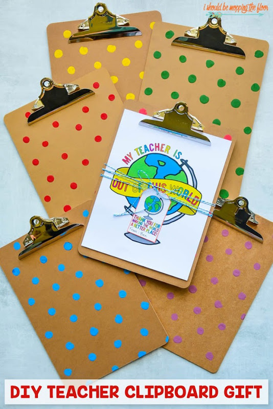 clipboard teacher appreciation gifts
