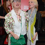 WWW.ENTSIMAGES.COM -   Jenny Eclair   and daughter (Phoebe) arriving  at     Great Britain - press night at Theatre Royal Haymarket, London September 26th 2014West End Opening at Theatre Royal Haymarket for Richard Bean's GREAT BRITAIN -  Play about an ambitious tabloid editor in production described as anarchic satire about the press, the police and the political establishment.                                                    Photo Mobis Photos/OIC 0203 174 1069