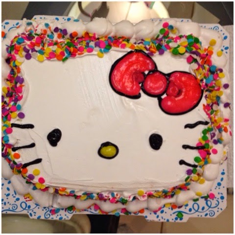 Carvel Hello Kitty Ice Cream Cake