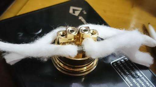 DSC 2116 thumb%25255B2%25255D - 【RDA】「Geekvape Peerless RDA」レビュー。24mm爆煙大型コイルビルド可能な高級感あふれるドリッパー!!ボトムフィード対応【ギークベープ/ビルド/電子タバコ】