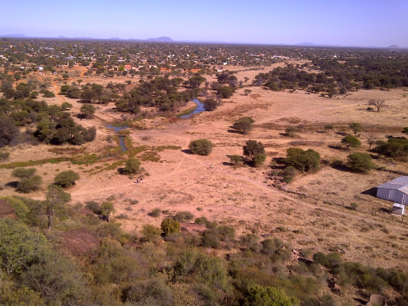 Notwane River near Mochudi