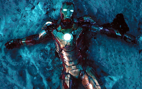 Iron Man suit broken