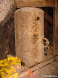 An older pressure tank.