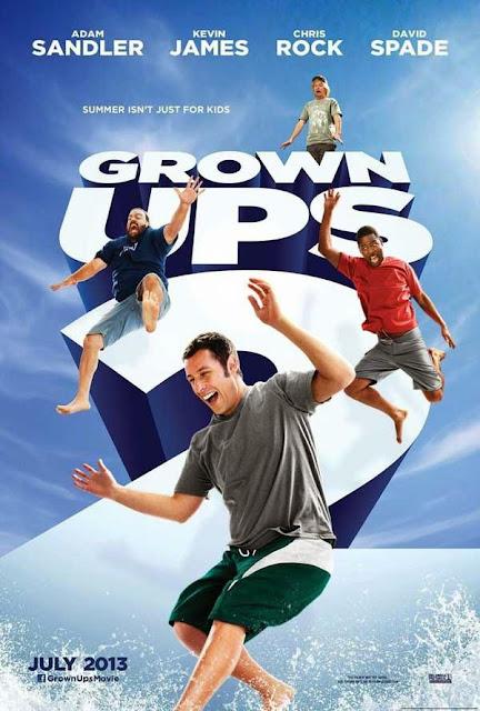 Οι Μεγάλοι 2 Grown Ups 2 Movie Poster