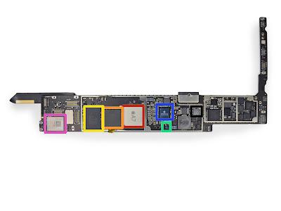 iPad Airのロジックボード