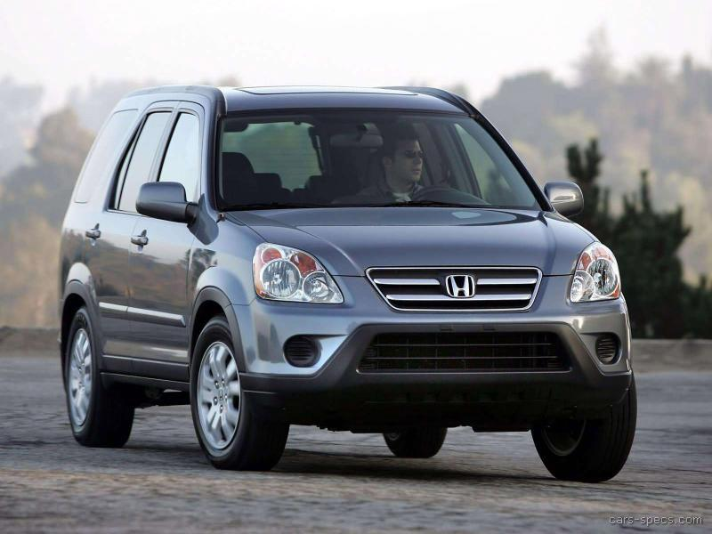 2005 Honda Cr V Suv Specifications Pictures Prices