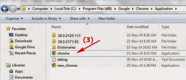 Hạ cấp Chrome 39 xuống Chrome 38 tránh lỗi giao diện - 55644