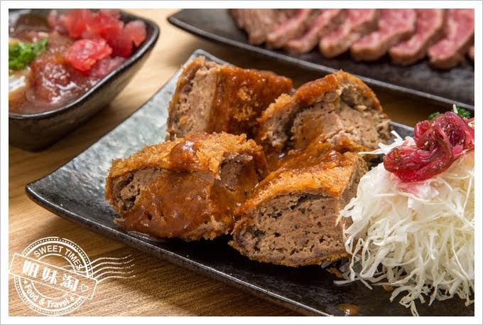 逸之牛日式炸牛排專賣炸黑牛漢堡