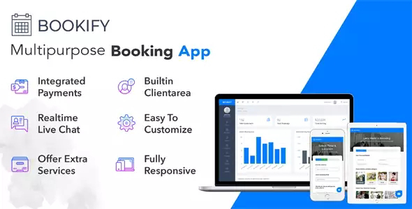 Bookify v1.4 – Multipurpose Booking App