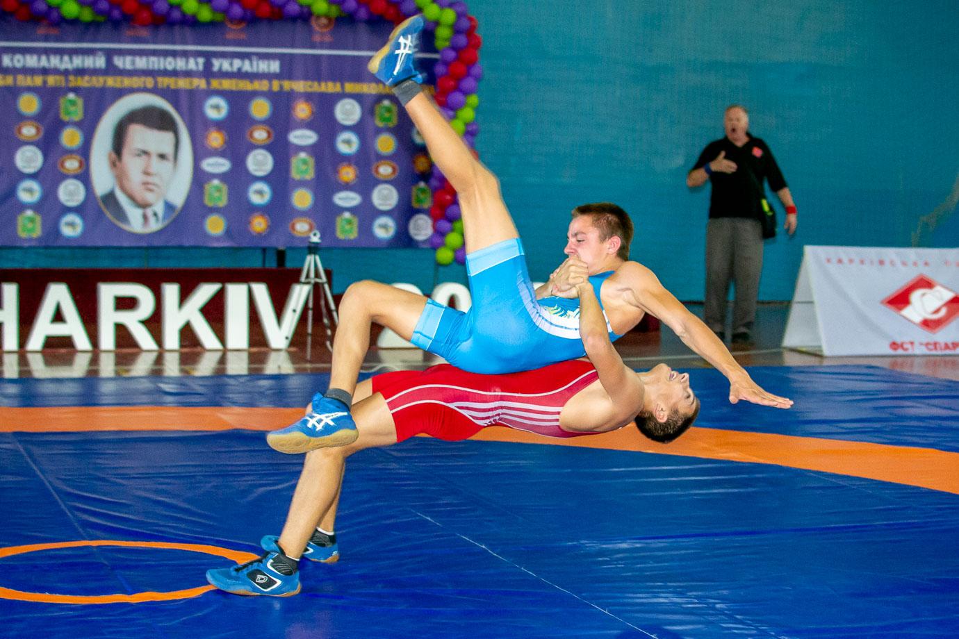 Фотографии. Командный чемпионат Украины по греко-римской борьбе