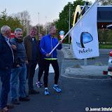 pekelders halen bevrijdingsvuur uit Wageningen - foto's Jeannet Stötefalk