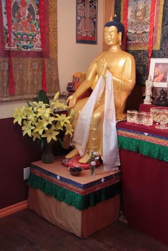 Gendun Drupba Centre's Maitreya, Williams Lake, Canada, May 2012