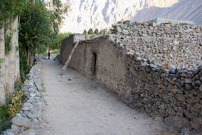 Houses of stones, Golaghmuli, Ghizer