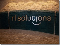 RL Solutions sign