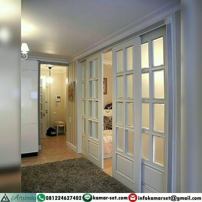 pintu geser sederhana