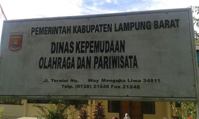 Disporapar Lampung Barat gelar even tahunan Lumbok seminung tahun 2018