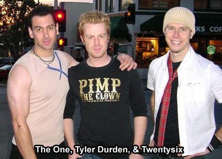 Pick Up Artists The One Tyler Durden Twentysix L01, Tyler Durden