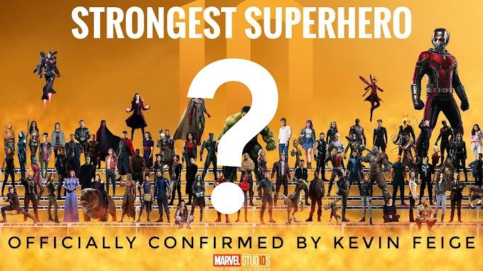 Strongest Superhero in MCU Confirmed By Kevin Feige