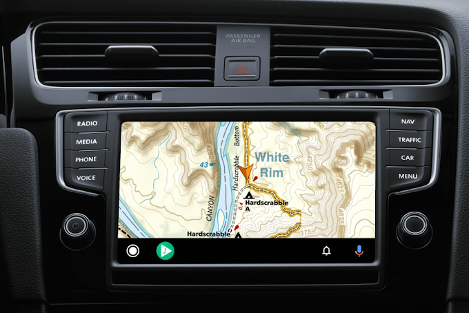 This is the new Gaia GPS off-road navigation app gains Android Auto compatibility and many more features