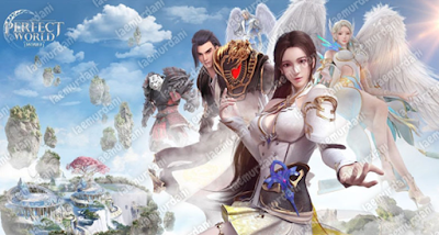 Permainan Petualangan Perfect World Mobile RPG