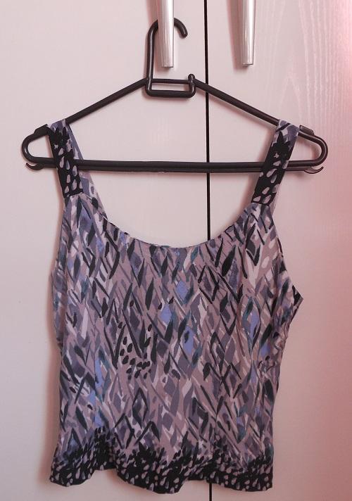 Costureira aprendiz - blusinha de alça