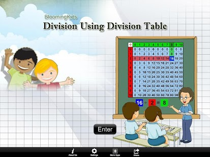 Division Using Div Table Lite- screenshot thumbnail