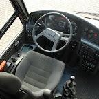 Het dashboard van de Volvo Jonkhere van Bovo Tours bus 271