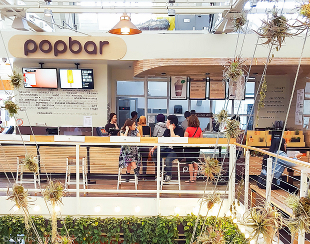 photo of the outside of Popbar