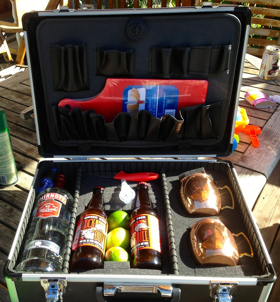 Grilling Montana's Custom Gameday Portable Moscow Mule Kit