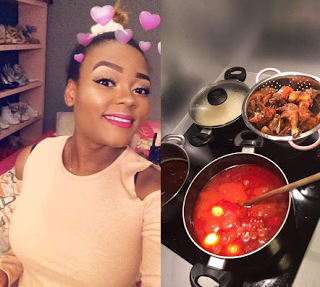 "Glorianna Eghe-Idubor: ""If Your Girlfriend Can't Cook For You, Throw Her Away"""