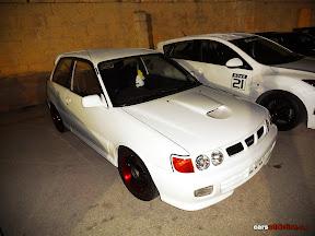 White Toyota GT Turbo