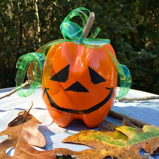Soda Bottle Pumpkin