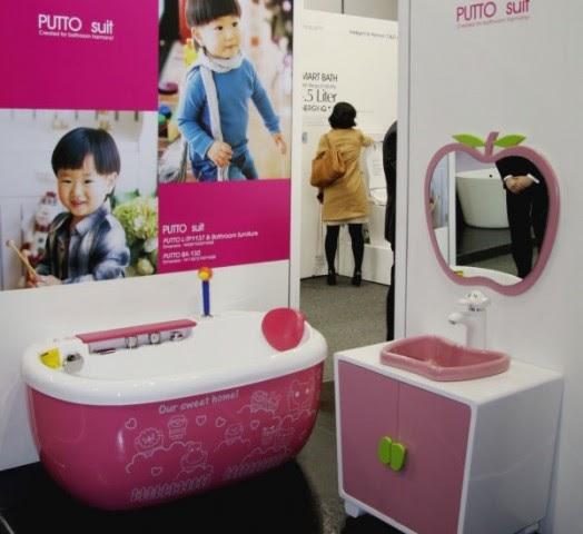 Diseno De Baños Para Ninas:decora y disena: Diseño de Baño para Niña Color Rosa