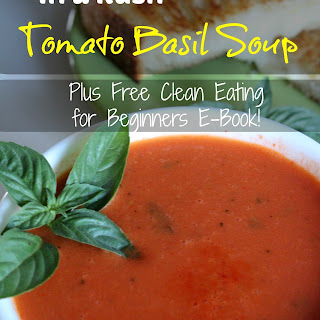 In a Rush Tomato Basil Soup
